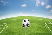 Laeacco Grassland Playground Football Soccer Game Photography Backdrops Customized Photographic Backgrounds For Photo Studio