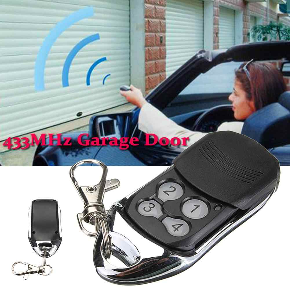 433MHz Garage Door Automatic Lifting Tool Gate Remote Control For BFT Mitto 2M 4M 12V D111751 4 Key Car Garage Remote