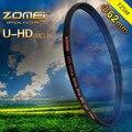 ZOMEI Pro 62 мм HD MC Super Slim УФ-Фильтр 62 мм MCUV Многослойное покрытие, 18-слой, водонепроницаемый, германия SCHOTT Glass)