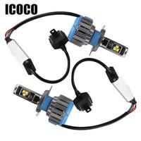 ICOCO Car Headlight Universal 70W Led Car Lighting Auto Front Lamp H4 H8 H9 H11 7000lm