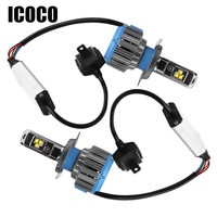 ICOCO Car Headlight Universal 70W Led Car Lighting Auto Front Lamp H4 H8 H9 H11 7000lm