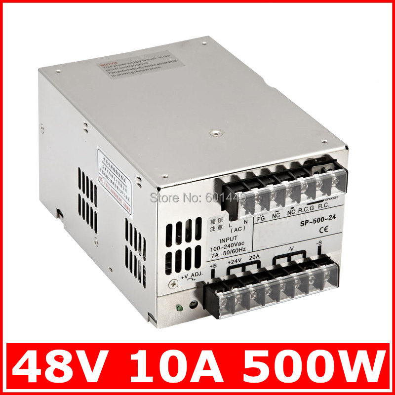 factory direct electrical equipment & supplies power supplies switching power supply s single output series scn 1000w 12v Factory direct> Electrical Equipment & Supplies> Power Supplies> Switching Power Supply> S single output series>SP-500W-48V