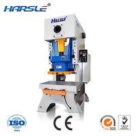 Harsle 16 25 40トンミニ小さな手動パイプチューブ金属アルミステンレス鋼板シートメタル穴パンチングマシ