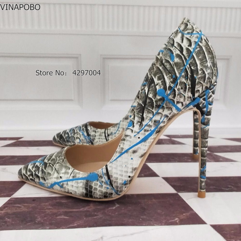 2Brand-Shoes-Women-High-Heels-12-CM-Women-High-Heels-Dress-Shoes-High-Heels-Grey-High (2)