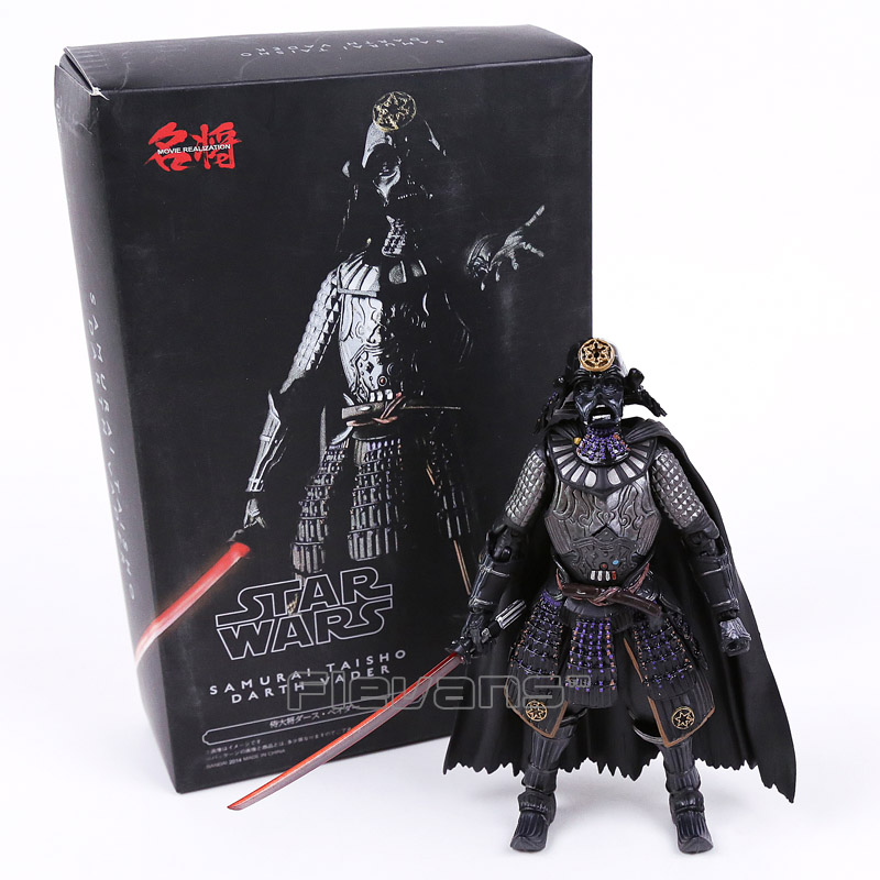 Star Wars MOVIE REALIZATION Samurai Taisho Darth Vader PVC Action Figure Collectible Model Toy star wars samurai taisho darth vader 1 7 scale painted pvc action figure collectible model toy 17cm kt2271
