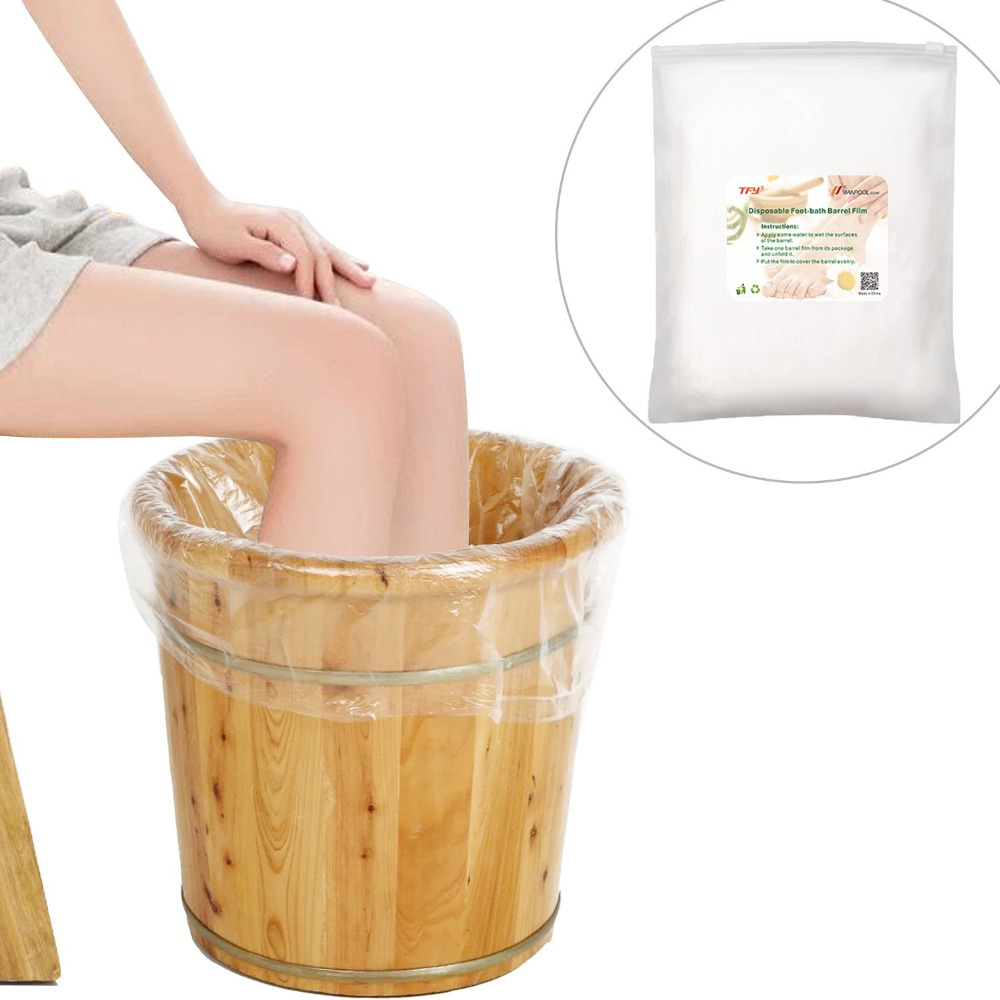 Disposable Foot Tub Liners Bath Basin Bags for Foot Pedicure Spa -in ...