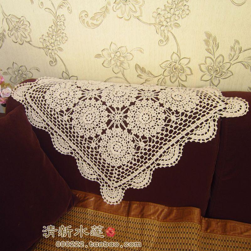 2014 new design fashion three dimensional cotton crochet universal
