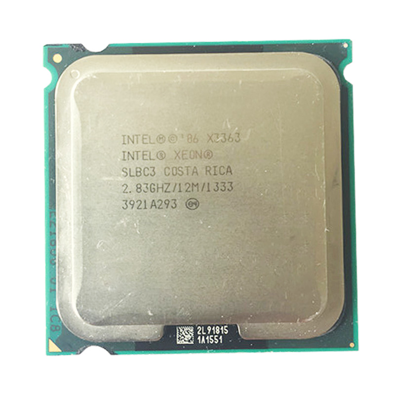 INTEL XEON X3363 2.83GHz 12M 1333Mhz CPU /Quad-Core/FSB 1333MHz/server Processor Working On Some 775 Socket Mainboard