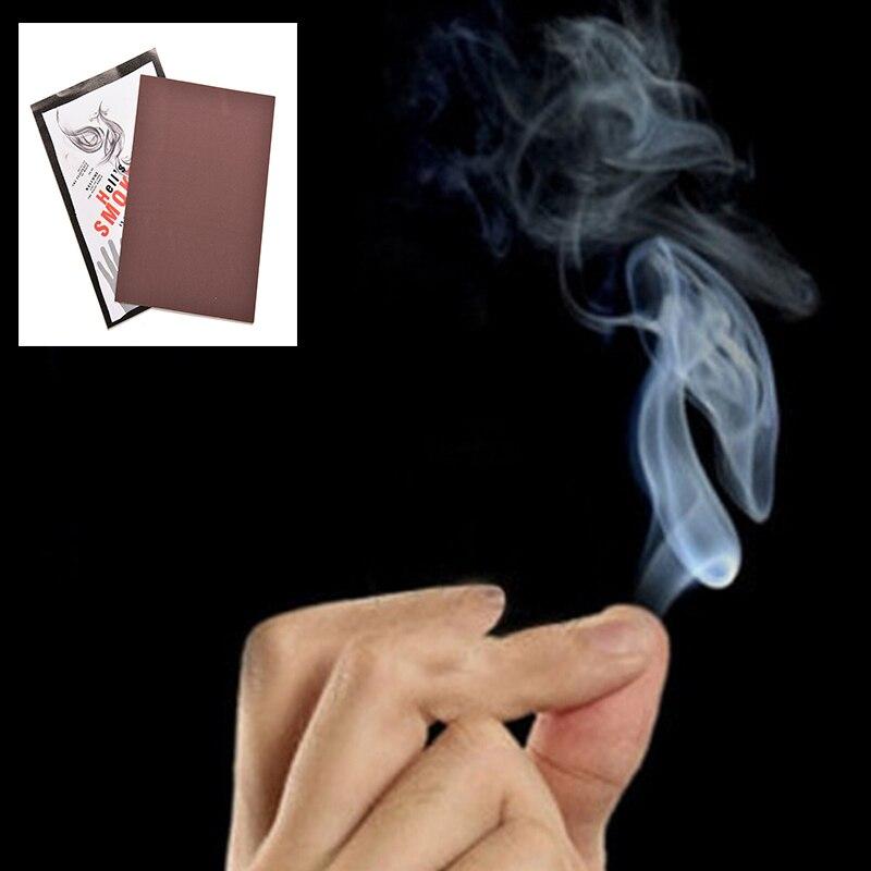 10 шт. Magic дыма от кончиками пальцев фокус сюрприз Шутки Шутка мистический весело реквизит