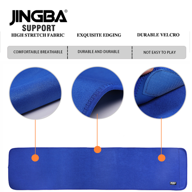 JINGBA SUPPORT fitness belt Back waist support sweat belt waist trainer waist trimmer musculation abdominale Sports Safety 4