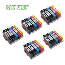 Чернила способ 25 шт. 5 видов цветов замены чернил для HP 364XL чернила для HP Photosmart D5460 D5463 D5468 c6324 C6375 C6380 c6388 D7560