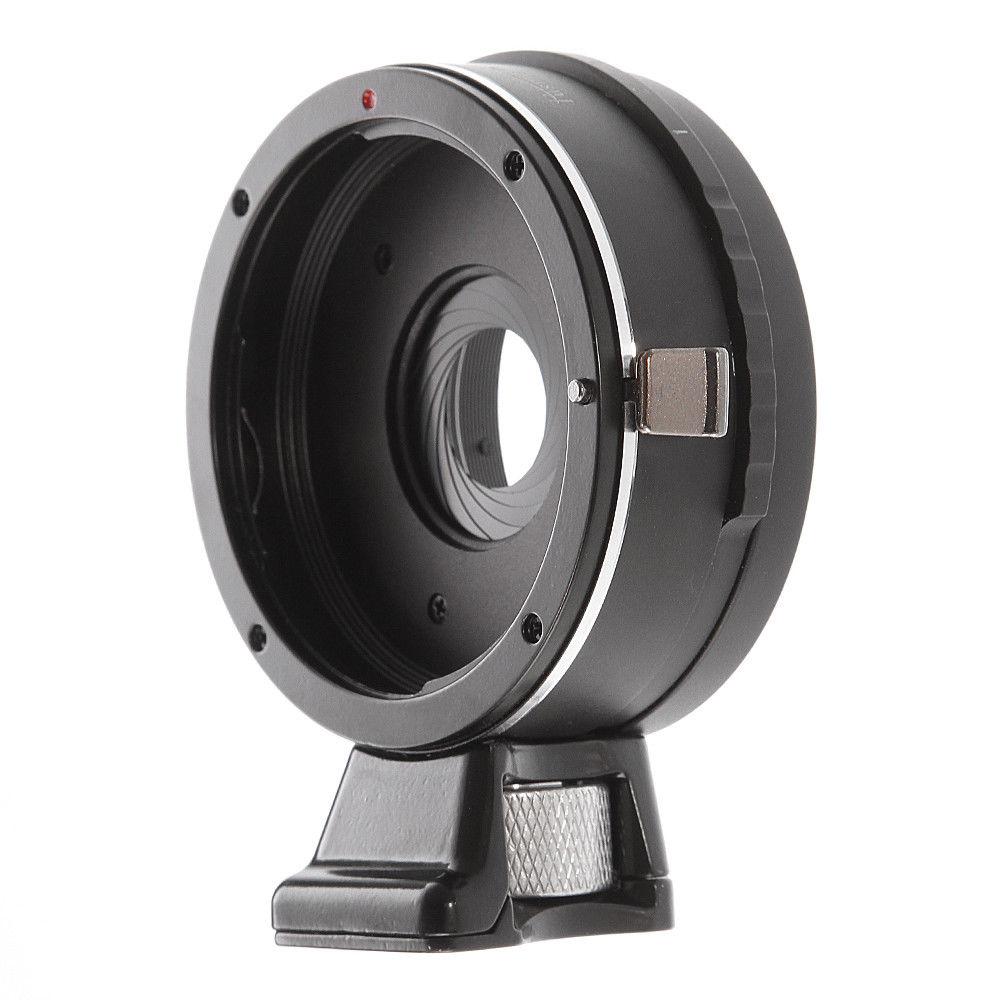 Intégré Ouverture Bague D'adaptation pour Canon EOS EF Lens pour SONY E Mont NEX-7 6 NEX-3 NEX-3C A6500 A5100 A5000 NEX-VG10 VG20 FS700