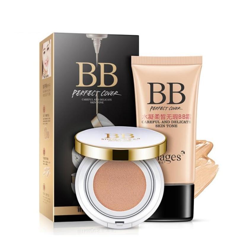 Brand Flawless Skin makeup set,Air Cushion Fashion cosmetics kit,Anti-wrinkle BB Cream,Repair face skin foundation BB&CC Cream