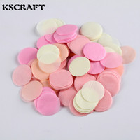 KSCRAFT Colorful Paper Circle Confetti for Kids Birthday Wedding Party Decoration Supplies 2000pcs