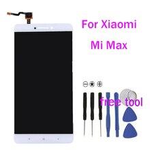 Смартфон для Xiaomi Mi Max ЖК-дисплей дисплей и Сенсорный экран сборки 6.44 дюймов для Xiaomi Max + Бесплатные инструменты