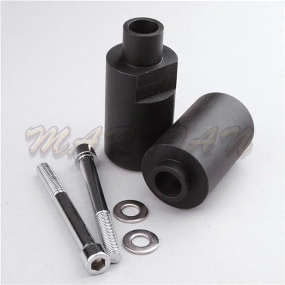 Loyaal Motorsport Geen Cut Valblokken Kuip Frame Protectors Slider Zwart Fit Voor 2004-2005 Suzuki Gsxr 600/750