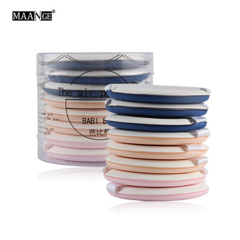 8cs/box three colors Air makeup puff BB Cream Puff Makeup Foundation Sponge Facial Powder Puff Beauty Tools 1