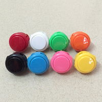 8pcs Original Sanwa OBSF 30 Push Button for arcade MAME game DIY parts 13 colors available