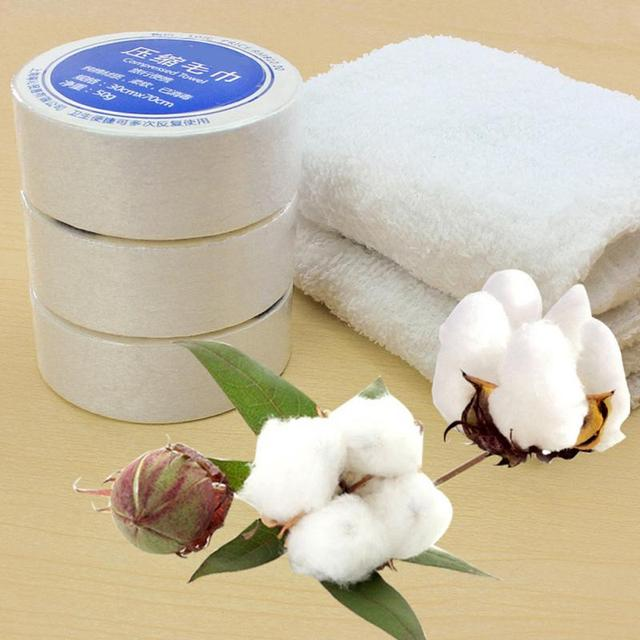 Home/ Travel use Compressed towels Cotton Hotels Camping Trip Travel Essential Easy Carry Portable Towels 30*30cm/ 30*70cm