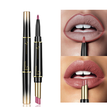 Semi Dumb And Moisturizing Double Head Fashion Lipstick 16 Colors Easy To Wear Easy To Wear Water-Resistant Makeup Beauty цена 2017