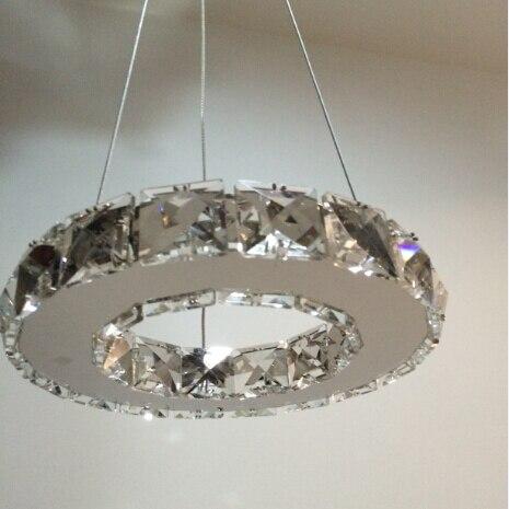 New Arrival LED Crystal Chandelier Light, Diamond Crystal Pendant Lamp Fast Shipping Diamond Ring Lamp for pendant hot sale diamond ring led crystal chandelier light modern pendant lamp 100