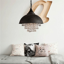 Vintage Led Pendant Laights Lighting Modern Crystal Pendant Lamp Bedroom Hotel Restaurant Decoration Hanging Lamp Luminarie цена 2017