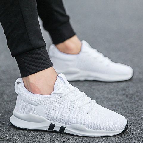 New Mens Casual Shoes Sneakers Men Breathable Fashion Men Shoes Slip On Walking Shoes White Canvas Male Shoes Solid Men Footwear Pakistan