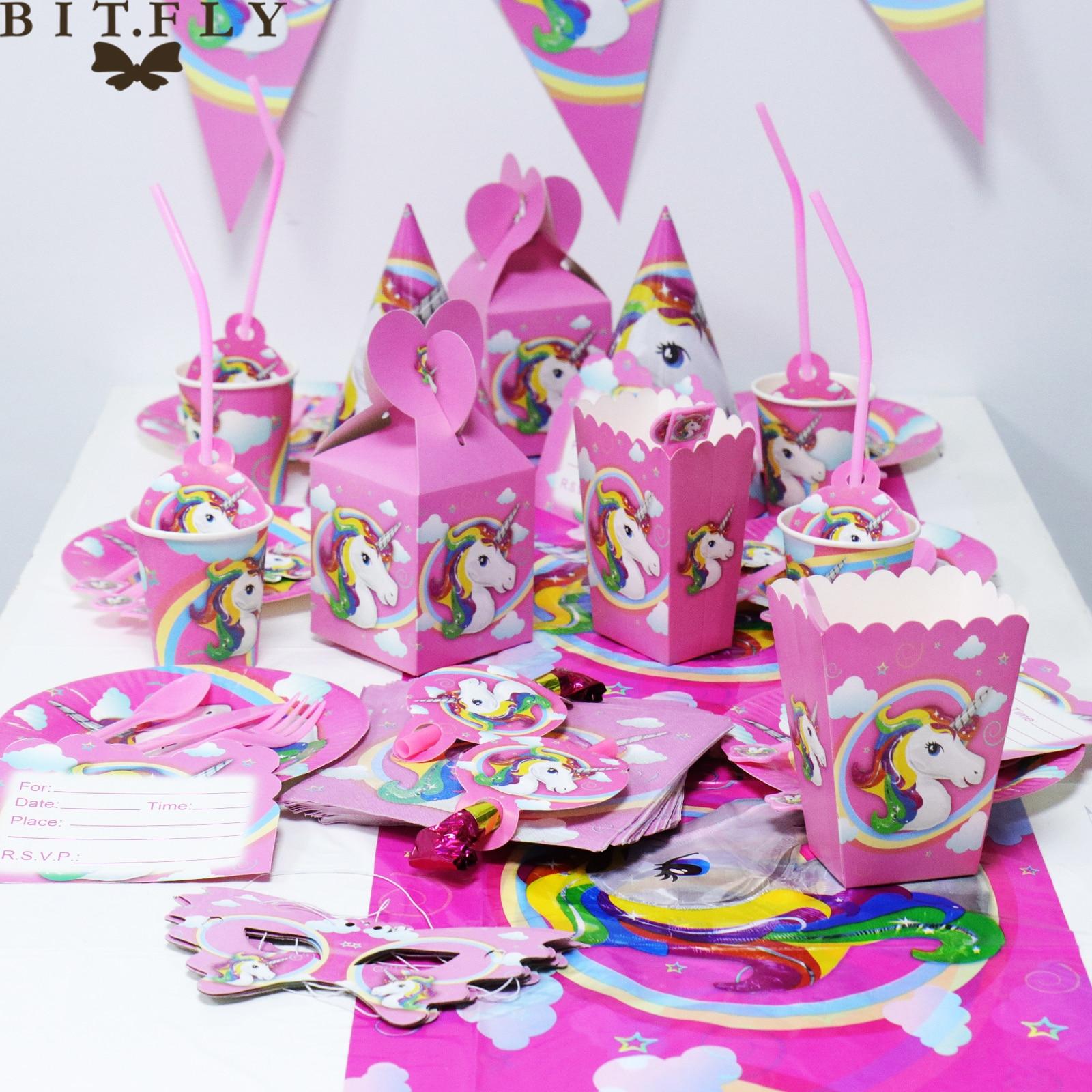 10pcs Unicorn Eye Mask Party Decoration Birthday Party Unicorn Unicorn Th/ème Cartoon Party Decoration