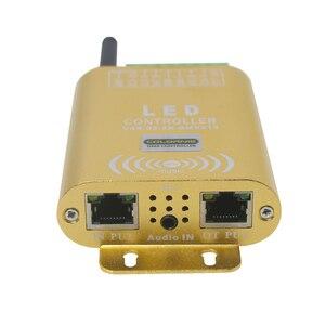 Image 3 - 2048 Pixel WIFI Verbinding SPI Controller LED Music Controller Met Micphone voor Droom Kleur Strip Verlichting