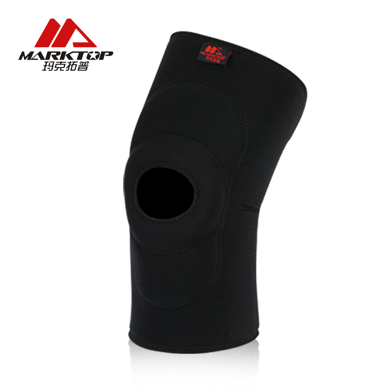 Marktop Sports Knee Pads Breathable Warmth Cycling Knee Support Elastic Professional Protective Neoprene Sports Safety 5101 in Elbow Knee Pads from Sports Entertainment