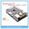 Latest Raspberry Pi 2 Model B+ B Plus Black Case Cover Shell Enclosure Box Transparent double color