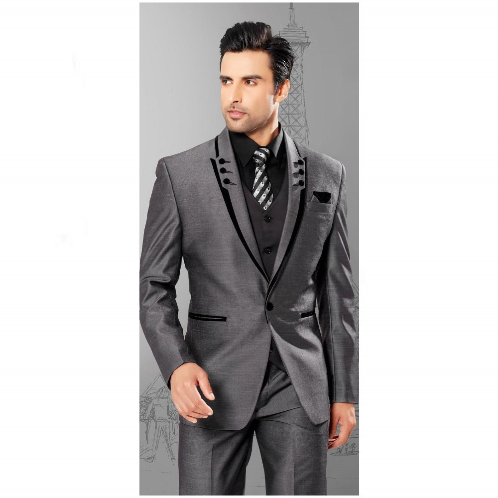 Unique Design Male suit Wedding Suits For Man Groomsman Tuxedosin Suits from Mens Clothing