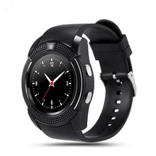 New Perfect V8 Smart Watch Clock With Sim TF Card Slot Bluetooth Connectivity for Apple iPhone Android Phone Smartwatch Watch