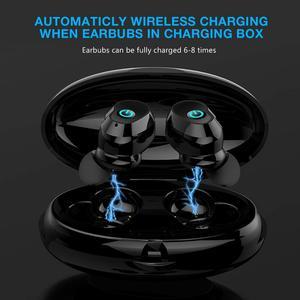Image 4 - WA02 TWS 5.0 Auricolare Bluetooth IPX7 impermeabile di Sport Vero Auricolari Senza Fili HiFi Audio Stereo cuffie Senza Fili per il telefono