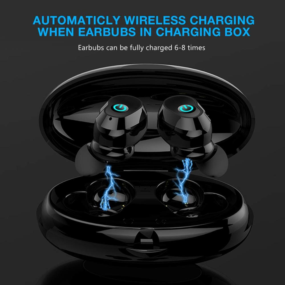 Image 4 - WA02 TWS 5.0 Bluetooth Earphone IPX7 waterproof Sports True Wireless Earbuds HiFi Stereo Sound Wireless headphones for phone-in Bluetooth Earphones & Headphones from Consumer Electronics