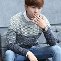 2017 New Brand Men Wool Sweater Autumn Winter O-neck Thick Kintwear Pullover Christmas Mens Sweaters High Quality