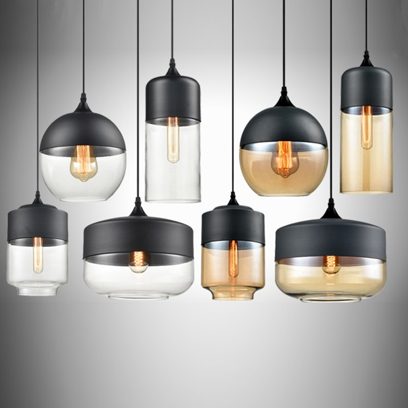 Kitchen Pendant Light Bedroom Modern Ceiling Lamp Shop Glass Lighting Bar Office Lights Home Indoor Lighting Bulb For Free metal pendant light nordic style pendant lights office furniture simple modern lighting contains bulb free shipping
