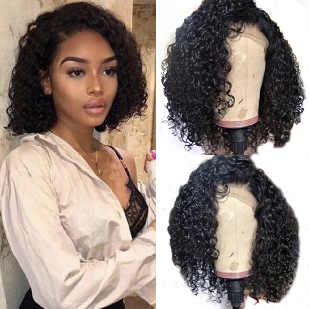 Eversilky 250% Density Glueless Lace Front Human Hair Wigs For Black Women European Straight Lace Front Wig Remy Hair Hair Extensions & Wigs