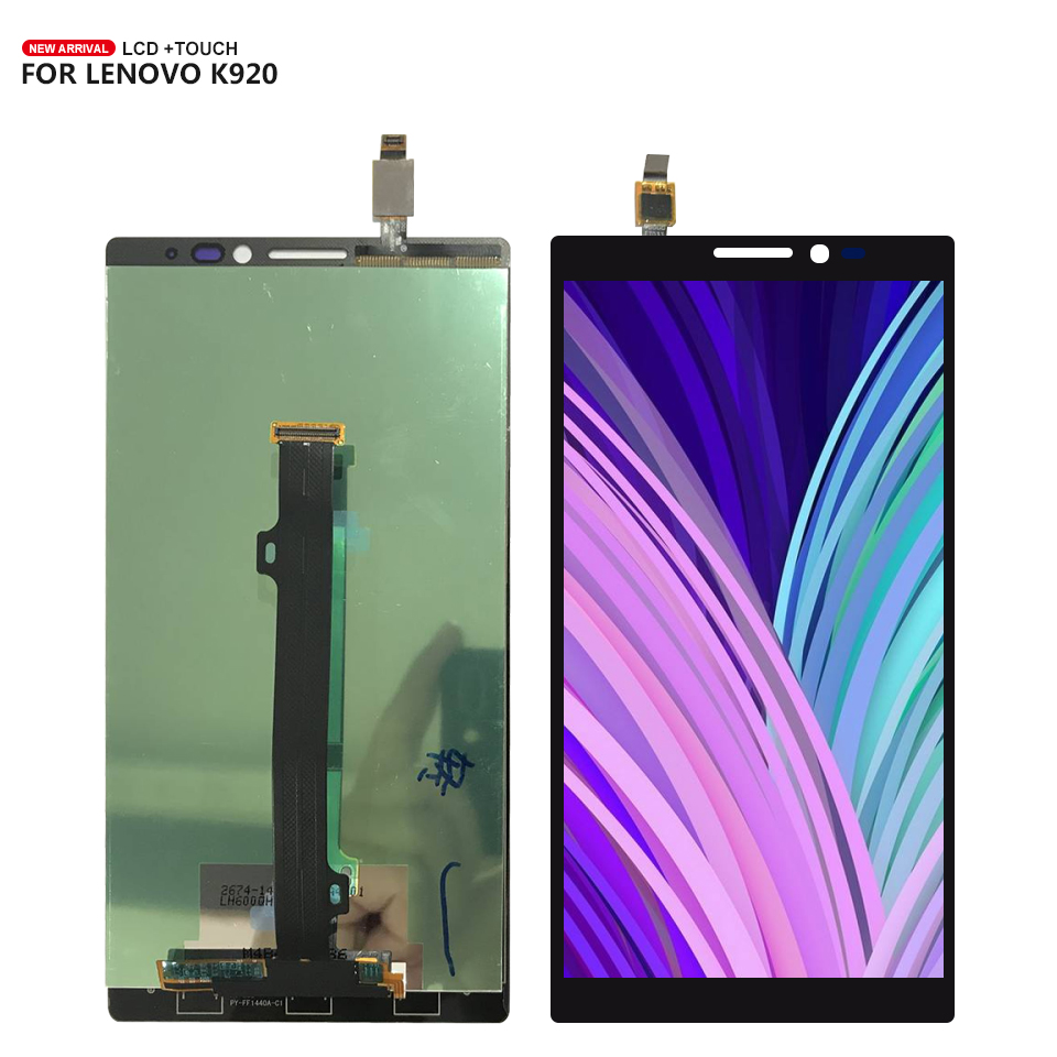 For <font><b>Lenovo</b></font> <font><b>Vibe</b></font> <font><b>Z2</b></font> Pro K920 <font><b>LCD</b></font> <font><b>Display</b></font> <font><b>Touch</b></font> Panel <font><b>Screen</b></font> Digitizer Assembly Replacement Free Tools Replacement image