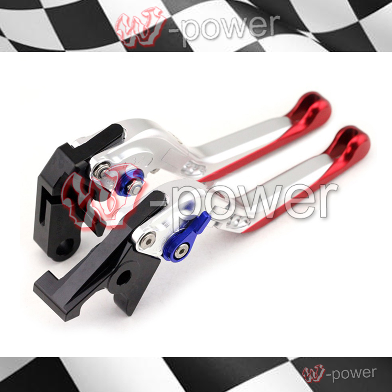 fite For HONDA CBR 650F  CB650F 2014 2015 2016 Silver Motorcycle Accessories Adjustable folding extensible Brake clutch lever racepro cnc labor saving red motorcycle adjustable lever for for honda cbr650f cb650f 2014 2015