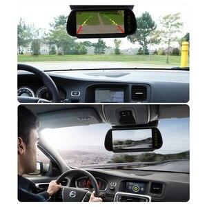 Image 5 - AOSHIKE 7 ekran 800*480 12V Monitor samochodowy do kamery tylnej 7 Cal wyświetlacz lcd led uniwersalny z kamera samochodowa Parking