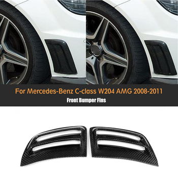 High quality Carbon Fiber Car Front Fender Vent mask for Mercedes Benz W204 C63 AMG  (Fit 2008-2011 C63 AMG bumper only) jc 20130709 1