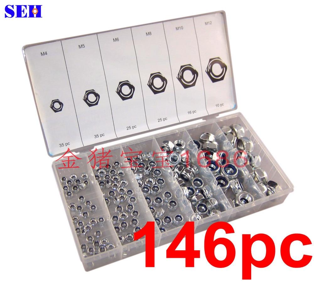 Special 146 Nylon locking nut M4-M12 / suit hot selling