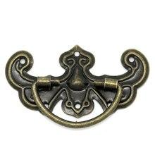 Free Shipping 30PCs Bronze Tone Pattern Drawer Cabinet Desk Door Pull Handle Knob Furniture Hardware