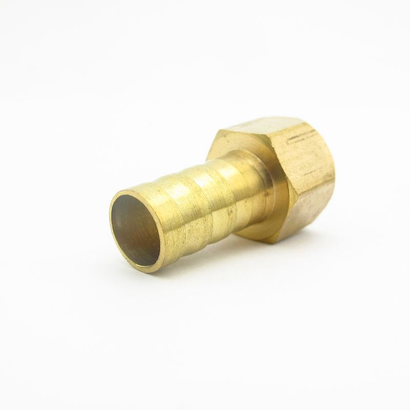 4 mm 5 mm 6 mm 8 mm 10 mm 12 mm 14 mm 16 mm 19 mm Manguera Barb Codo Lat/ón Acoplamiento de tubo de p/úas Acoplador Adaptador de conector para combustible Gas Agua,6 mm de di/ámetro exterior