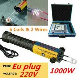 Aquecedor De Indução magnética Parafuso Remover Tool Hand-held Aquecedor Por Indução com Bobinas de Calor Conjunto de Ferramentas Caixa de Ferramenta de Reparo Do Carro UE/EUA Plug