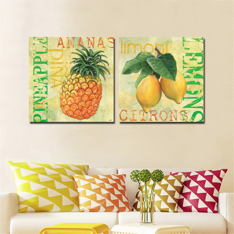 Aliexpress.com : Buy 2pcs Modern Home Wall Decor Painting Canvas Art ...