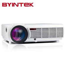 2017 New BYINTEK Home Theater HDMI USB PC VGA AV Video 200inch Movie Cinema LCD 1080P LED Full HD Projector Proyector Beamer