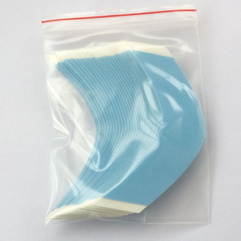10bags/lot  A Contour lace front support  high quality strong double tape for toupees wig tape  walker tape
