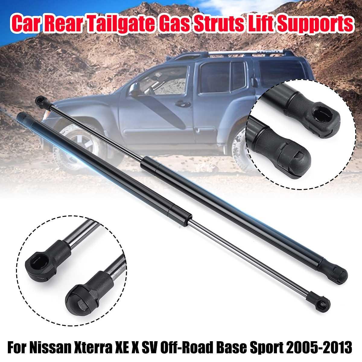 Rear Window Glass Lift Supports Strut Shocks For Nissan Pathfinder 05-13 Qty 2